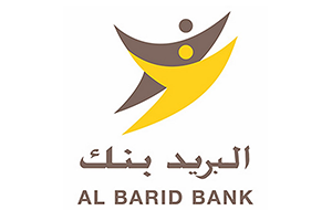 al barid bank logo yellow