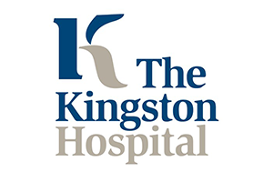 Kingston Hospital Logo blue grey