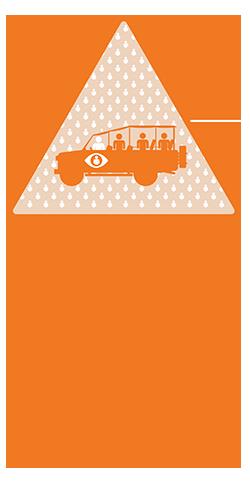 safari programme logo with binoculars
