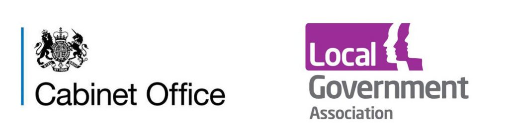 OPE Partners Cabinet Office and LGA logos