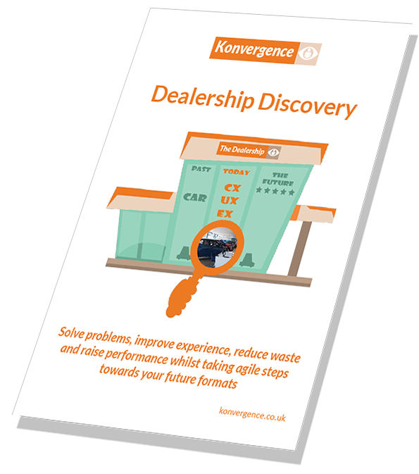Dealership customer experience guide cover