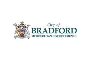 Bradford logo with coat of arms