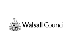 walsall council logo with coat of arms