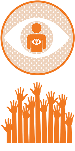 sustain programme logo with hands